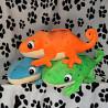 Плед с подушкой-игрушкой саламандра Прилуки