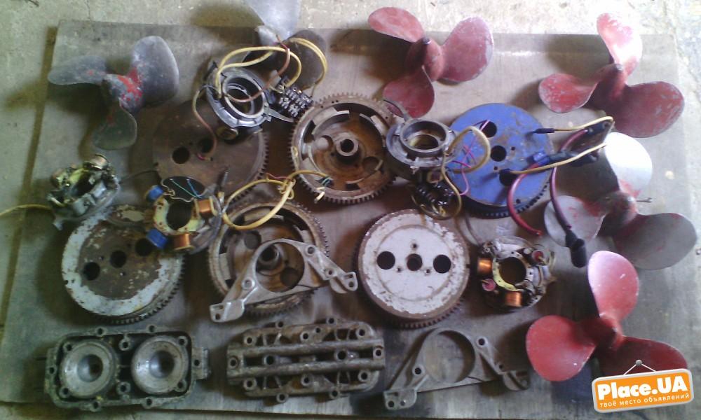 запасные части к лодочному мотору вихрь