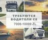 Водитель С+Е на тент, реф, бочка и контейнер Киев