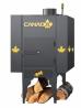 Печь Канада с теплоаккумулятором и защитным кожухом доставка из г.Киев