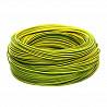 Электрический провод ЗЗЦМ ПВ-3 0.5 Желто-зеленый Винница