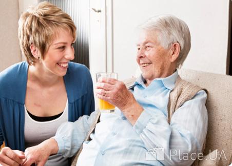 Материальная помощь по уходу за престарел